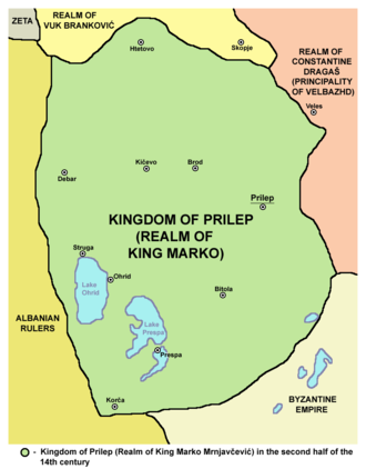 Lordship of Prilep - Medieval Realm of King Marko