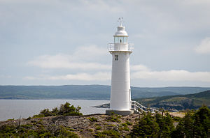 English: Kings Cove Head Lighthouse, Kings Cov...
