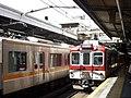 Kintetsu 2610 series 2623 at Tsuruhashi Station.jpg