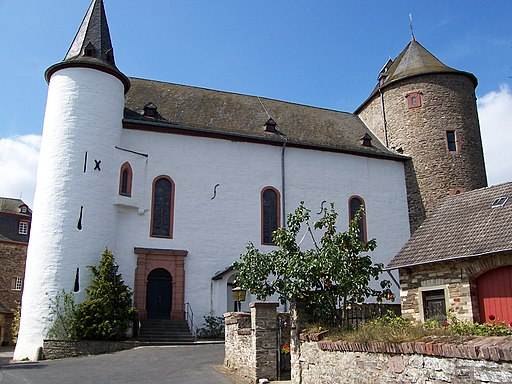 Kirche Burg Wildenburg (Eifel)