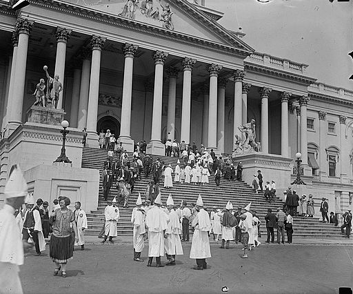 Klansmen at Capitol, 1925