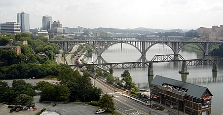 Bridges over the Tennessee River Knoxville-R.jpg