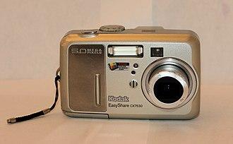 Kodak EasyShare - Kodak EasyShare CX7530.