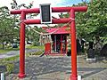 Koganeshima-jinja shrine in Watari town.JPG