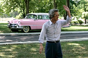 Elvis Presley's Pink Cadillac - Image: Koizumi in Graceland 2006