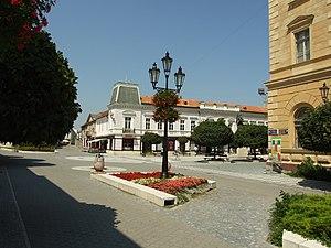 Museum of Danube Komarno - Image: Komárno, Námestie generála Klapku II