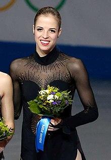 Carolina Kostner Italian figure skater