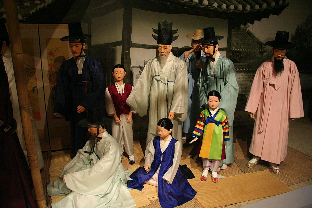 Korean Traditional Fashion Black