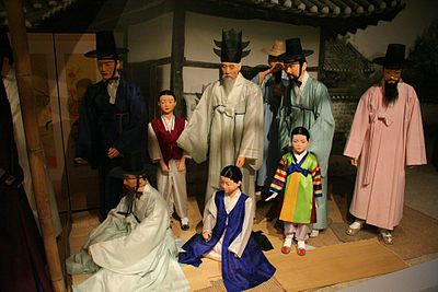 Korean clothing-Hanbok-Joseon period-01.jpg