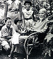 Korekiyo Takahashi with his grandchildren cropped 1.jpg
