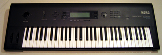 Korg Wavestation synthesizer first produced in the early 1990s