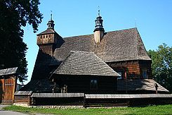 Największy drewniany kościół gotycki w Polsce