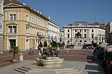 Kossuth Lajos szobra Szegeden