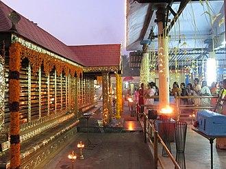 Kottankulangara Devi Temple - Devotees entering the Temple