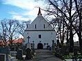 Kouřim, kostel Nejsvětější Trojice, čelní pohled.jpg