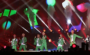 B.A.P (South Korean band) - B.A.P performing at the 2013 K-POP World Festival