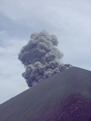 Krakatoa - An eruption in summer 1999
