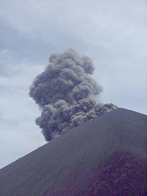 Krakatoa - An eruption in summer 1999