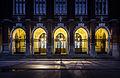 Krakow- Collegium Novum- brama wejsciowa 01.jpg