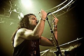 Kreator en Hole in the Sky 2007.