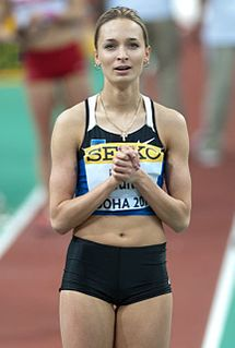 Ksenija Balta athletics competitor