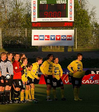 Kuopio Football Stadium - Image: Ku PS vs JIPPO soccer draw
