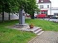 Kunratice, náměstí Prezidenta Masaryka, busta T. G. Masaryka.jpg