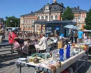 Northern Savonia - Image: Kuopio market place 2011