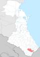 Kurakhsky district locator map.png