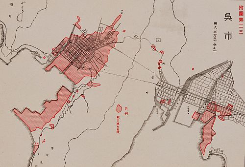 Kure Bombing Damage map 1945.jpg