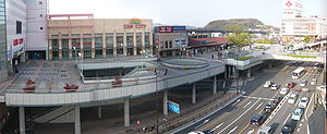 Kurosaki Station - Panorama of Kurosaki Station