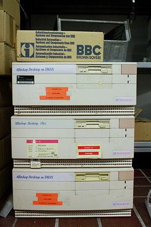Alfaskop - Alfaskop Data Terminals with 2.88 MB floppy drive