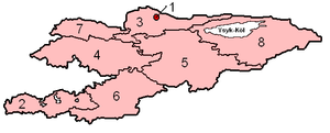 Provinces of Kyrgyzstan
