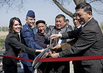 Kyrgyz villagers celebrate water improvement project 130405-F-QV958-063.jpg