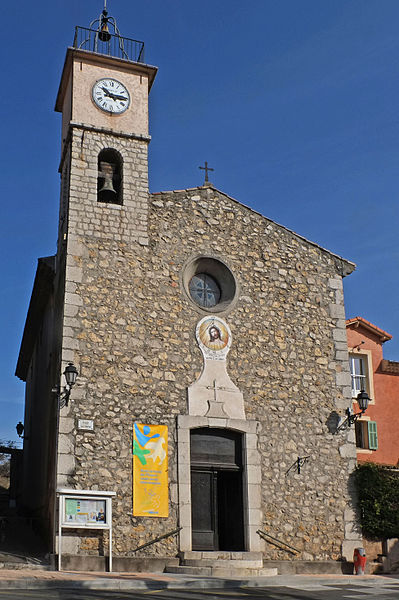 L'église de La Roquette-sur-Siagne