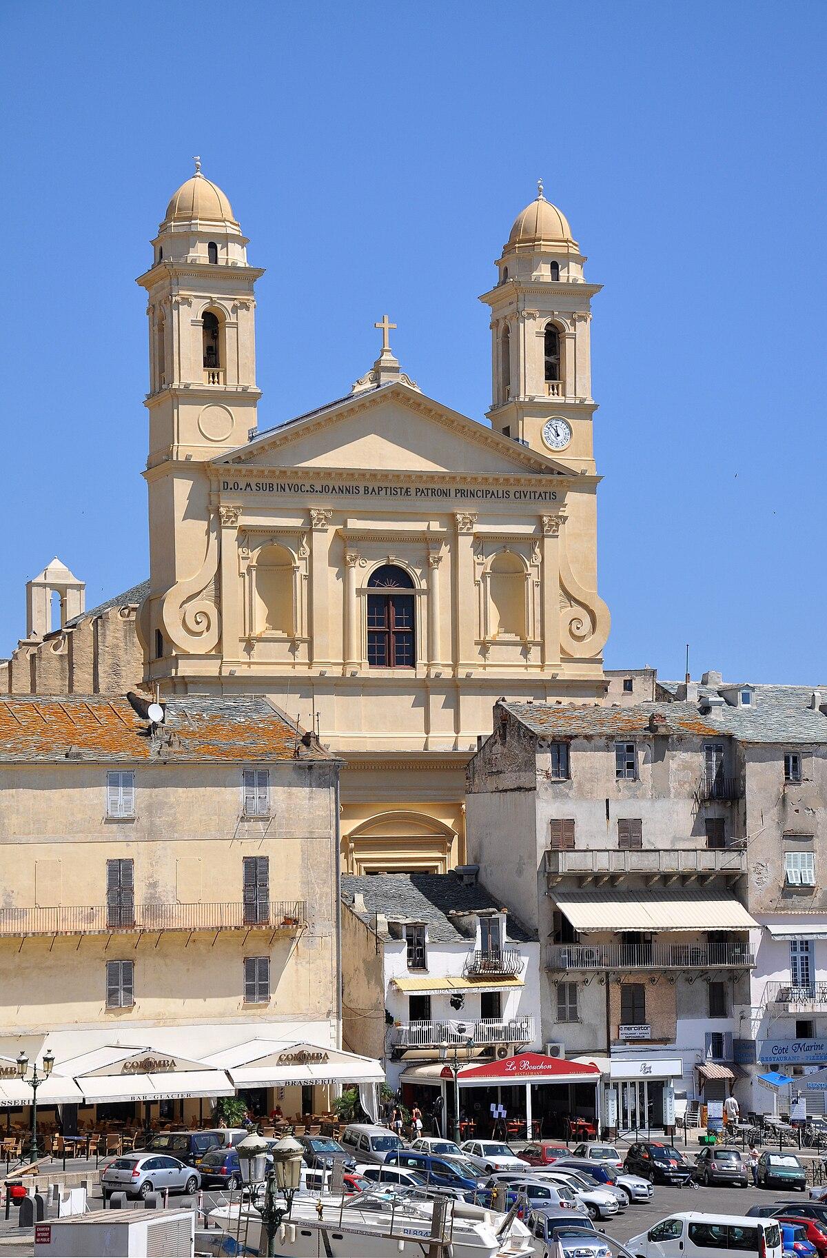 Glise saint jean baptiste de bastia wikip dia for Maison de la literie bastia