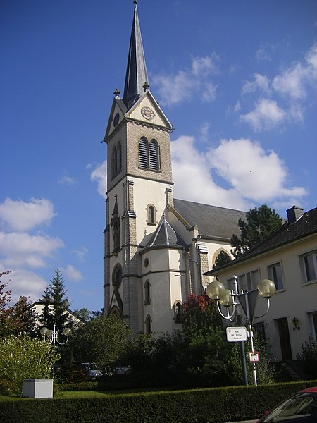 Church of Steinfort, Luxembourg
