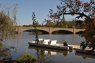 Lake Carnegie (New Jersey) - Image: LAKE CARNEGIE HISTORIC DISTRICT; PRINCETON, MERCER COUNTUY