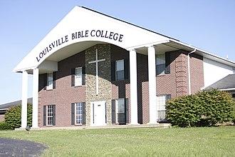 Louisville Bible College - Image: LBC Admin. Building