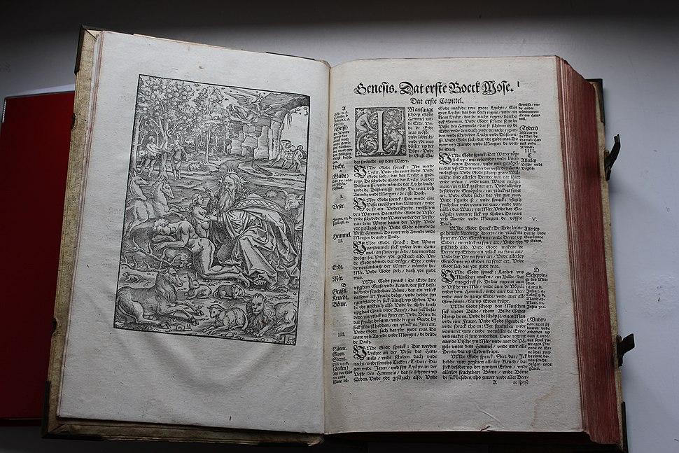 LZB in Flensburg - Niederdeutsche Lutherbibel von 1574-1580, Bild 05