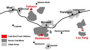 Latrobe Valley Wikipedia - Where is latrobe