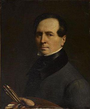 Louis La Caze - Louis La Caze, self-portrait, c. 1843.