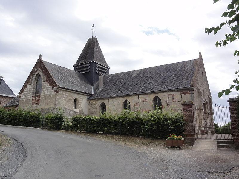 La Neuville-en-Beine (Aisne) église Notre-Dame