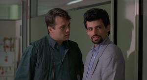 Enrico Lo Verso - Enrico Lo Verso (right) and Claudio Amendola in The escort (1993)