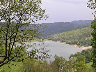 Aigues-Juntes - Mondély Lake