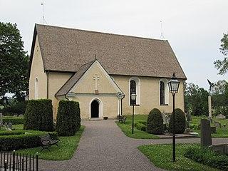 Lagga Church church building in Knivsta Municipality, Sweden