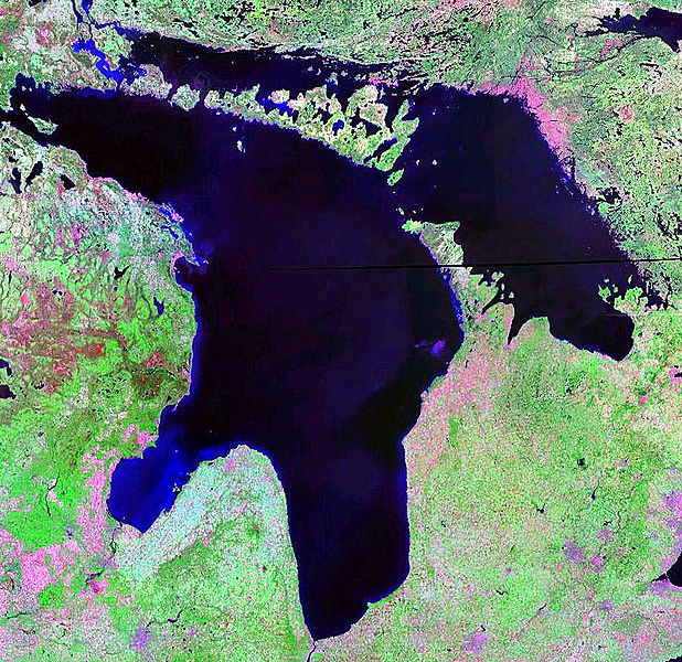 Archivo:Lake Huron NASA.jpg