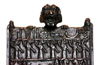 Lamashtu - Image: Lamashtu plaque 9163