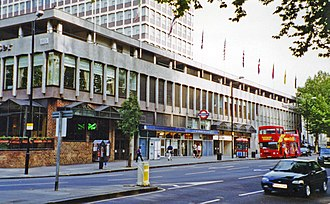Lancaster Gate tube station - Station in 2002 before the facade was reclad