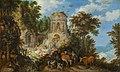 景观与飞行到埃及-1624-Roelandt Savery.jpg